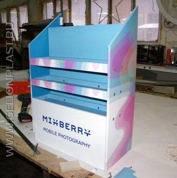"""Промостойка """"Mixberry mobile photography"""""""