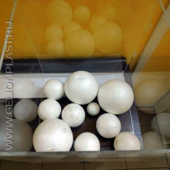 Готовые шары из пенопласта
