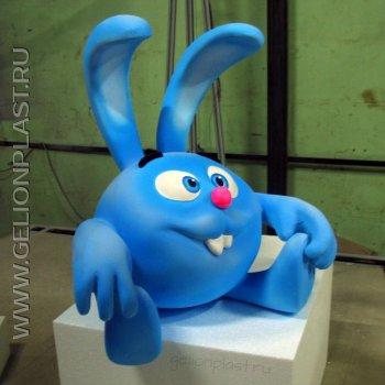 Кролик из пенопласта