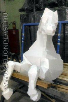 Конь из пенопласта